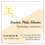 logo sandrine sophrologue